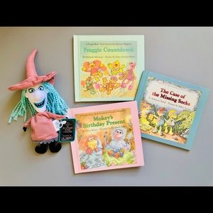 Bundle of 3 Vintage 80's Fraggle Rock Books 🌈